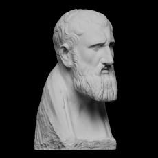Portrait of Zeno of Kition, Greek Philosopher