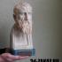 Portrait of Zeno of Kition, Greek Philosopher print image