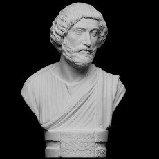 Portrait bust of a Barbarian