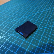 SD shape micro sd holder