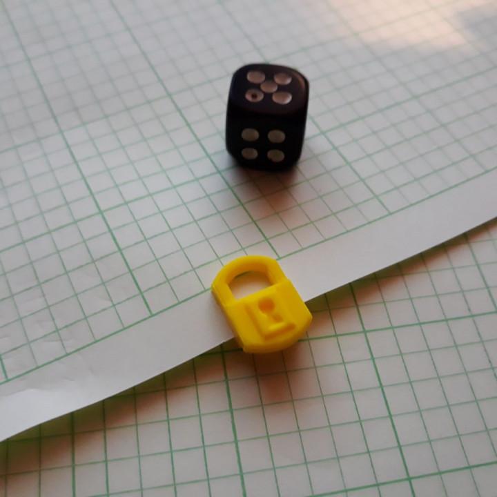 Too Many Bones - Trove Tracker - Padlock Paperclip