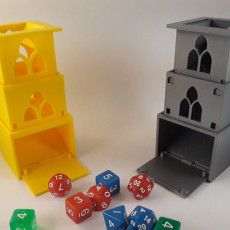 Cubic Gate - Collapsible / Telescoping Dice Tower