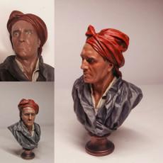 Picture of print of Portrait of Nicolas Coustou
