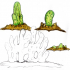 "Tabletop plant: ""Blob Plant"" (Alien Vegetation 13) image"