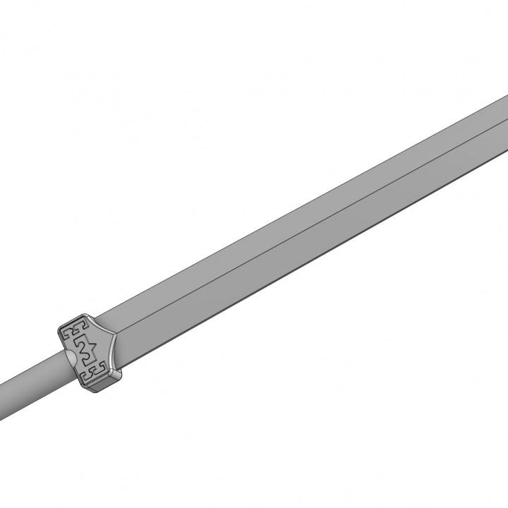 Sokka's meteorite space sword