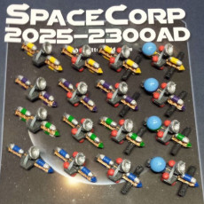 Spaceships for the Boardgame SpaceCorp