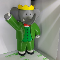 Picture of print of Babar the Elephant This print has been uploaded by Simon Fiastre