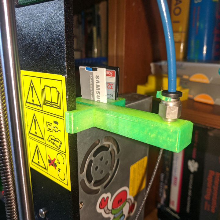 Prusa i3 MK3/MK3S SD and Reverse Bowden Holder