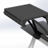 Rack for IP-TV console for TV LG UK64xx image
