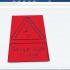 Danger high voltage Symbol. image