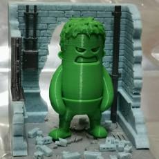 Picture of print of The Hulk Smash - Diorama