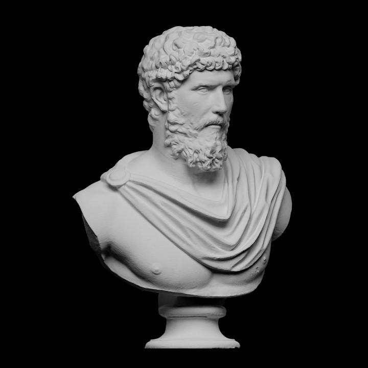 Portrait of Lucius Auelius Verus (Designated Emperor 136-138 AD)