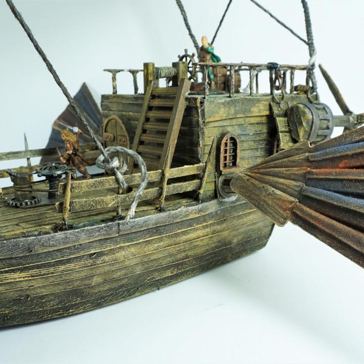 Ship's accessories V2 Window , Mast base
