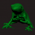 Rough Frog - Boardgame Animal Collection image