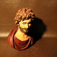 Picture of print of Bust of a Philosopher or Barbarian (?)