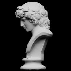 Portrait of Antinous (as Dionysus?)