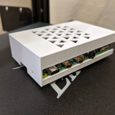 Picture of print of Raspberry Pi 4 case
