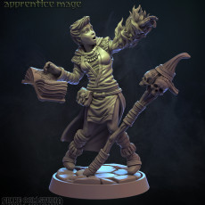 Apprentice Mage 32mm (Pre-supported)