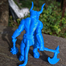 Picture of print of Minotaur Miniature