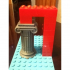 Ancient Greek ionic columns as Lego bricks image