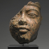 Fragmentary Egyptian head of Amenhotep III image