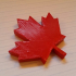 Maple Leaf Magnet image