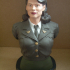 Peggy Carter Bust print image
