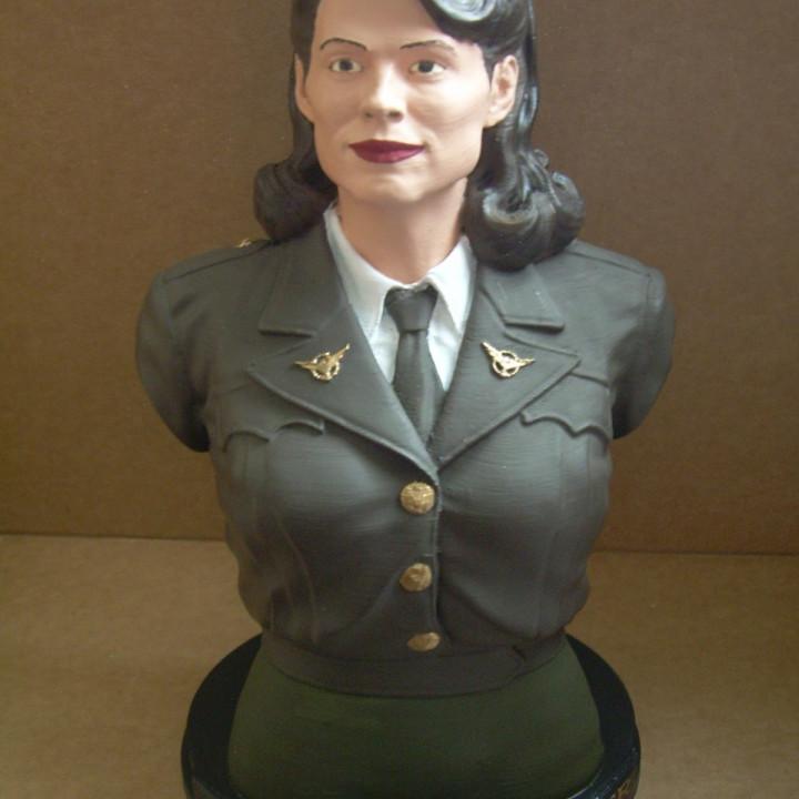 Peggy Carter Bust