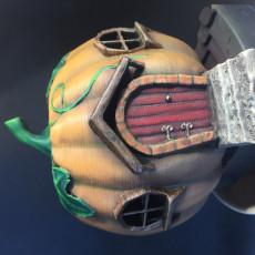 Picture of print of Pumpkin Hut