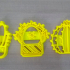 Cactus cookie cutter image