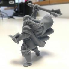 Picture of print of Human Male Cleric (32mm scale miniature)