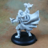 Human Male Cleric (32mm scale miniature) image