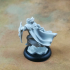 Human Male War Cleric (32mm scale miniature) image