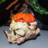 Halloween Pumpkin Skull Decoration image