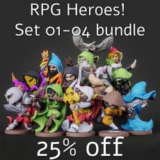 RPG Heroes! Set 01-04 - 25% OFF