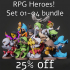 RPG Heroes! Set 01-04 bundle 25% OFF image