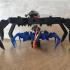 8 legged spider robot image