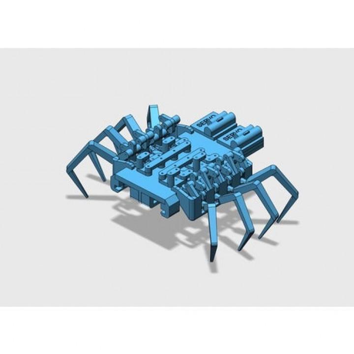 8 legged spider robot