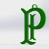 Palmeiras Keychain image