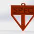 São Paulo Keychain image