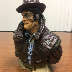"Picture of print of ""Gumshoe"" bust This print has been uploaded by Mark Brown"