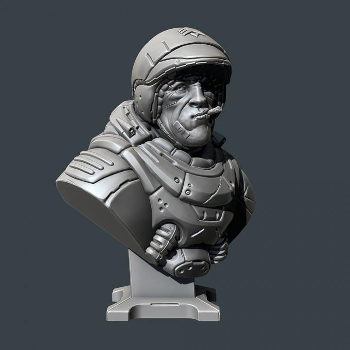 Sarge  bust
