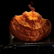 Picture of print of Evil Grinning Pumpkin Head