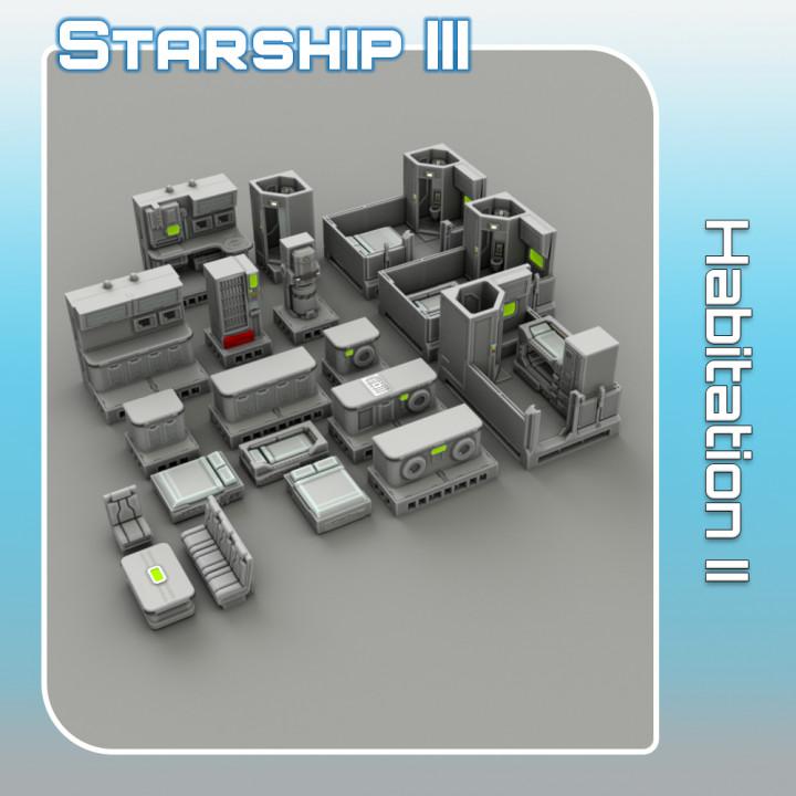 Habitation II - Starship III