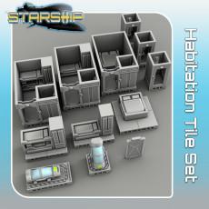 Habitation Tile Set