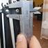 Крепление ножки раскладного столика travel light. image