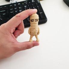 Mini Mummy - single and multimaterial version
