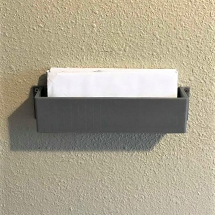 Mail bin - wall organizer
