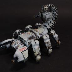 Picture of print of Scorpio Tank Mech