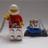 Silver LEGO pendant image